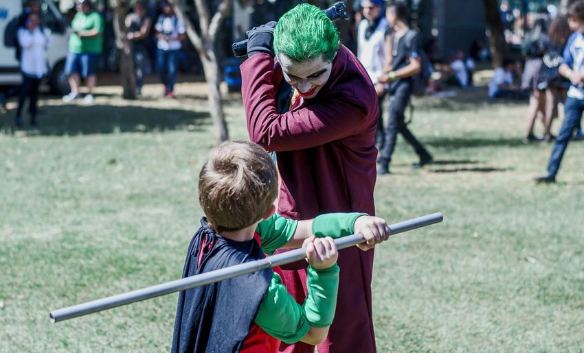 Good or evil? Cosplays Cosplayer