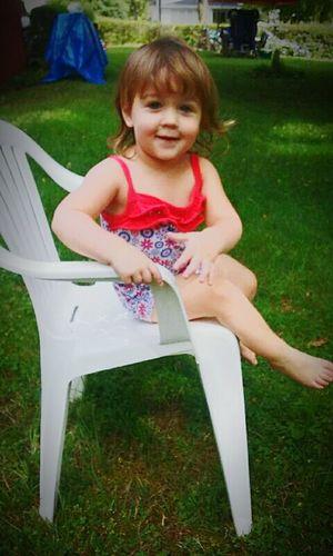 Granddaughter Smile :) Babygirl Toddler Life Beautiful Girl Love ♥ Serenity Magnolia