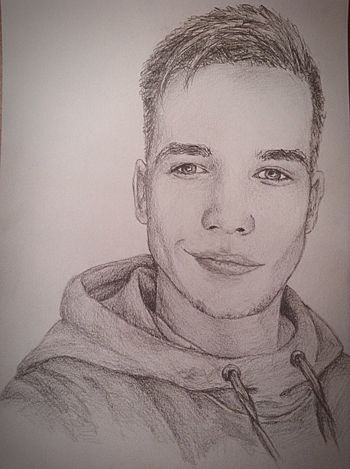 New order✏️ Working Portrait Drawing Exciting, Pencil Drawing Art Draw Boy Order Awesome