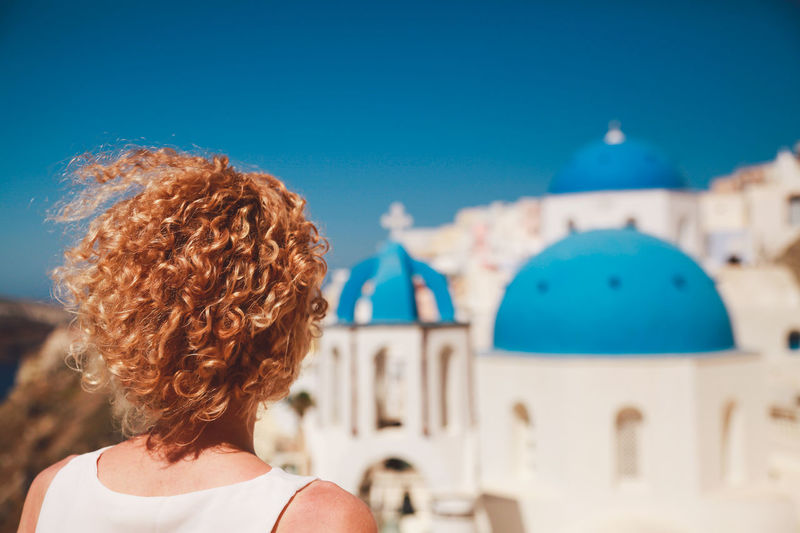 The Following Santorini Greece Curly Hair Girl Architecture Summer Vacation Outdoors Original Experiences Feel The Journey Let Your Hair Down Winners People And Places Break The Mold Neighborhood Map Sommergefühle Been There. Connected By Travel An Eye For Travel Love Yourself Summer Exploratorium