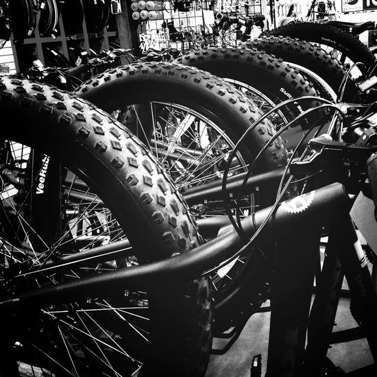 Went to visit my friend Chuck today and look at his awesome winter riding bikes. Bikes Winterbiking Nempls Blackandwhite