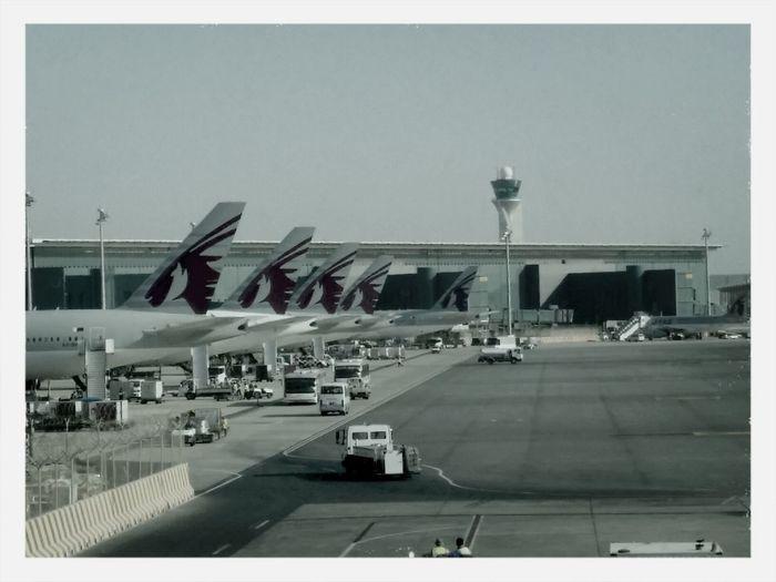 Qatar Airways at Hamad International Airport (DOH) Qatar