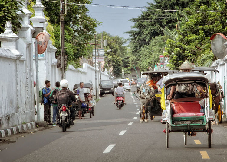 Streetphotography Outdoors City Day Transportation Yogjakarta INDONESIA Architecture