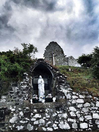 Grotto Stone Statue Prayer Religion EyeEm Best Edits Ireland Northern Ireland