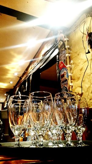 Showcase: January new year, new reflections Glasses Happy New Year English Pub Bier Ale Bier Time Pub Old Buildings Old England Old English British Britain Britishstyle British Style  British Inn