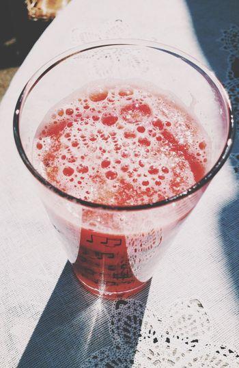 Juice Watermelon Pink Yummy