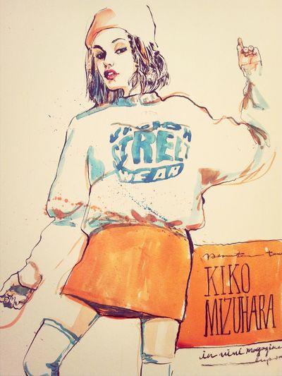 Art Drawing Kikomizuhara Portrait