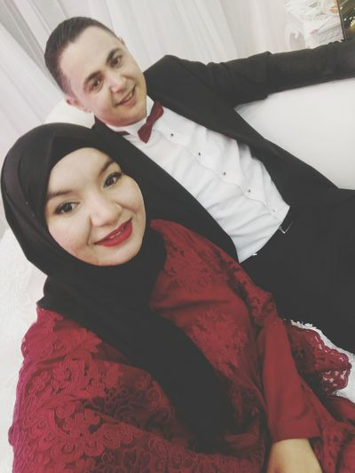 #wedding #party2 #dressbyme #hautecoture #stylist #fashionweek #redvelvet #blackhijub #girlshijub #Muslim #ootd #goodvibes #mood #redlips #simplyndcuty #makeuptutorial #beclassy.. ❤❤ #RedLips #muslim #Dress #ByMe #hautecoture #redvelvet Smiling Two People Adult Adults Only Young Women Women Young Adult Wedding Dress Happiness Looking At Camera Beautiful Woman Bride Day Portrait
