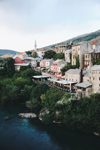 BIH Bosnia And Herzegovina Mostar Architecture Bosnia Built Structure Day History Holiday Nature No People Outdoors Sky Tourism Town