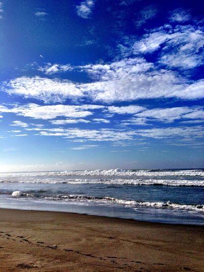 おはよう〜ございます*\(^o^)/* 晴れ〜 Beach