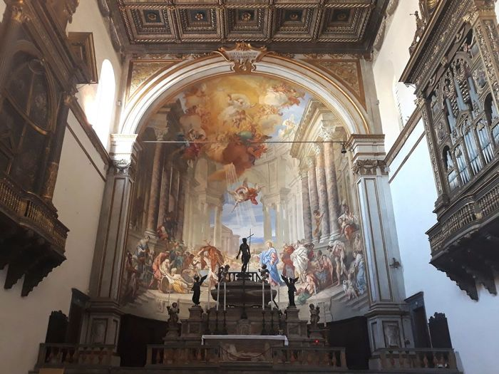 Sebastianoconca Siena Church Chiesasantissimaannunziata Art Probaticapiscina Religion Tourism Architecture Statue History Travel Destinations Sculpture