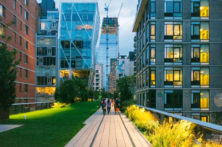 Highline New York New York City
