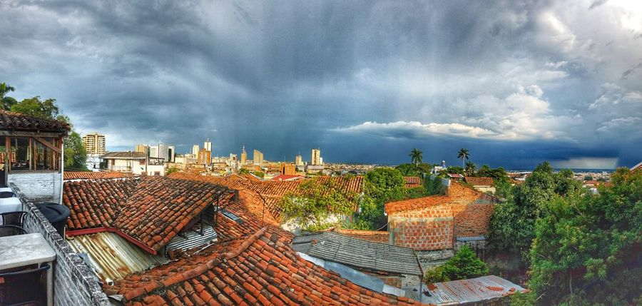 View of Valle Del Cauca from Barrio San Antonio in CALI COLOMBIA Cloud - Sky Tree Architecture Outdoors No People Panoramic Sky Day