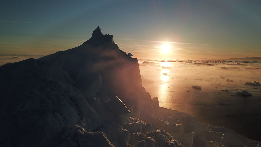 Drone  Drone Shot EyeEm Best Shots EyeEm Best Shots - Nature EyeEm Best Shots - Sunsets + Sunrise Icebergs Ilulissat Ilulissat Icefjord Midnight Sun Sunset Silhouettes Sunset_collection The Real Greenland This Is Greenland Drone Photography Dronephotography Droneshot Iceberg Iceberg - Ice Formation Mavic Pro Sunset Sunset #sun #clouds #skylovers #sky #nature #beautifulinnature #naturalbeauty #photography #landscape