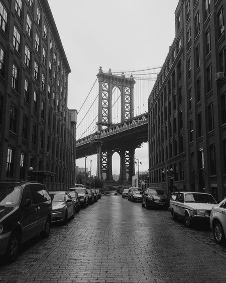 Suspension bridge in nyc