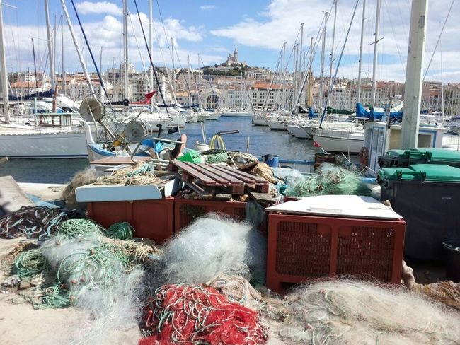 Vieux Port Marseille Fishnets