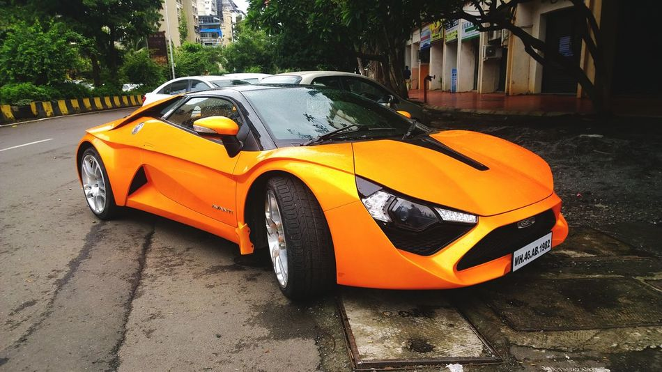 This Is Make In India Car Mode Of Transport Avanti DC Supercar Sportscar Avanti Racing TarzanCar TarzanTheWonderCar Supercolor Supercool