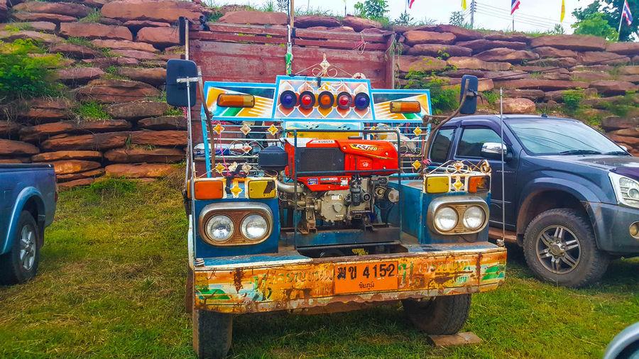 ไทยทำ Day Outdoors Land Vehicle Transportation No People Tree