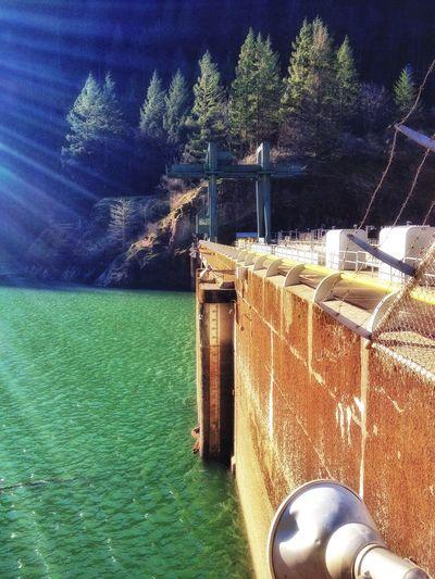 Dam River View