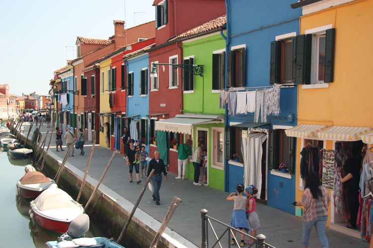 Arquitecture Burano Canal Carnaval Color Colors Murano Veneza Building Colorbuilding Seeing The Sights