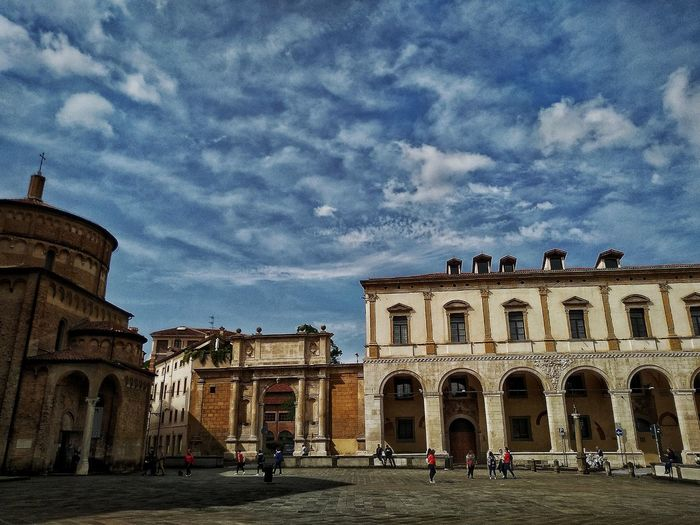 Padova, Aprile 2019 Hdr_Collection City Sky And Clouds Church Palace Arch Architecture Building Exterior Built Structure