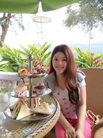 Relaxing Tea Enjoying Life Hello World
