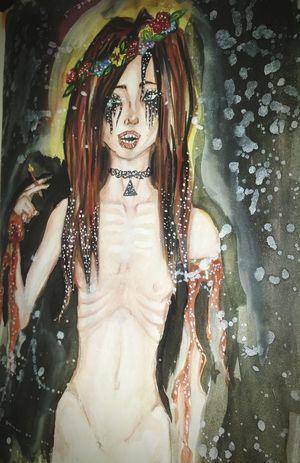 Порисовашки. Кривая, косая, бат ай лайк ит Art My Art Original Anorexic