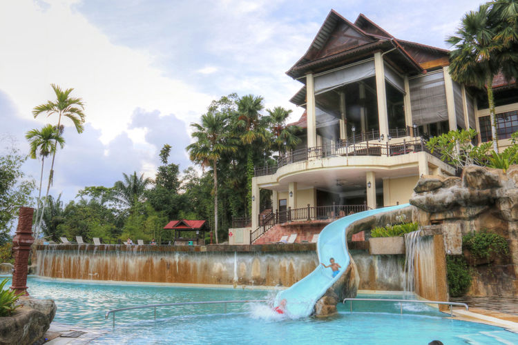 Kenyir Kenyir Lake Kenyir Lake Resort Malaysia Swimming Swimming Pool Tranquil Tropical Tropical Paradise