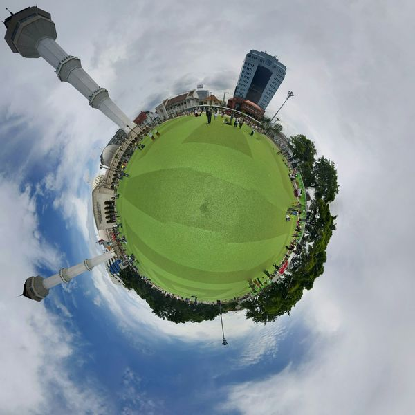 Bandung Tiny Planet Mosque INDONESIA