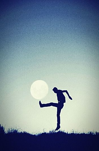 Adventure Club Let's play with the moon🌚⚽ Stayactive Nature Sport