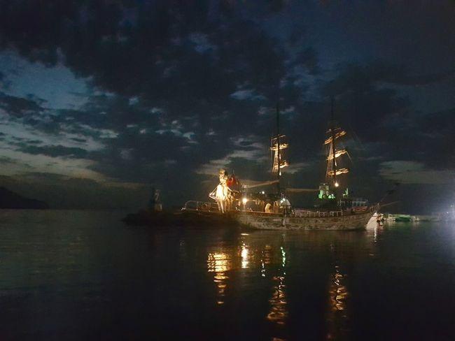 Turgutreis Turkey sunset Sunset Turgutreis  Sunset_collection Nature Water Sea Night Ship Beauty In Nature No People
