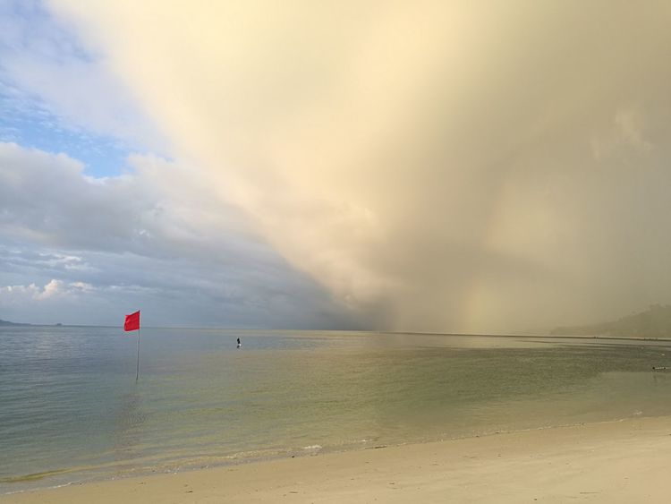 Before The Storm Extraordinary Nature Scenic View Beach Sea Outdoors Travel Destinations Dramatic Sky Water Cloud - Sky Red Atmospheric Mood Horizon Over Water Beauty In Nature Scenics Nature Sunset Storm Day Summer Sky No People Multi Colored