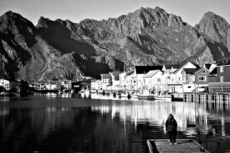 Norway and me Monochrome Blackandwhite Landscape_Collection Photooftheday