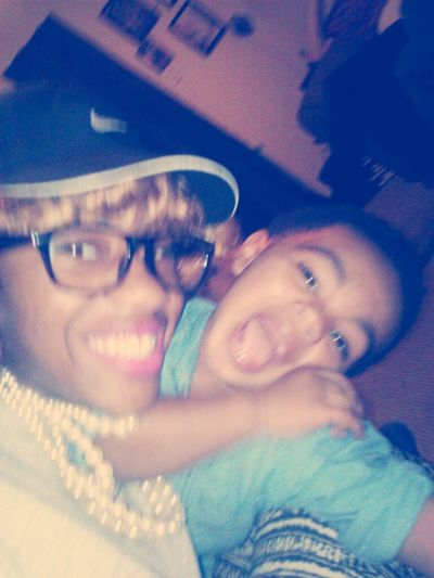 We was having fun ilm baby boy I was cheesed up tho
