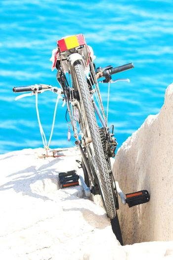 Sea Water Bike Giovinazzo Streetphotography Beach The Street Photographer - 2017 EyeEm Awards