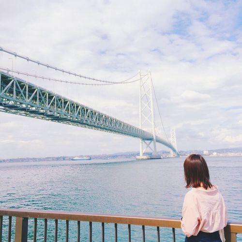 🚗🏝🎣 明石海峡大橋 淡路島