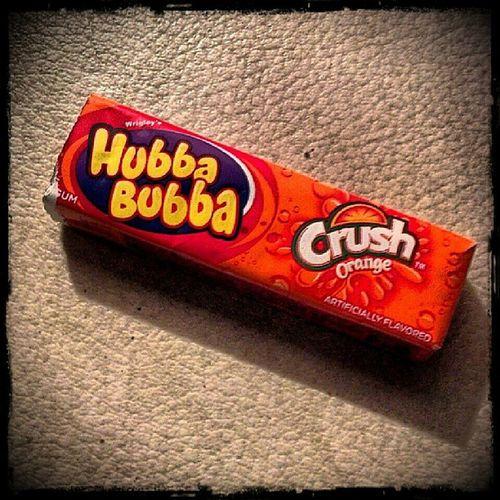 Wrigleys Hubbabubba OrangeCrush Gum Ilovegum MyFavorite  Hashtagaddiction Pictureoftheday Picoftheday Photooftheday Pixlromatic Portorchardwashington DroidRazr
