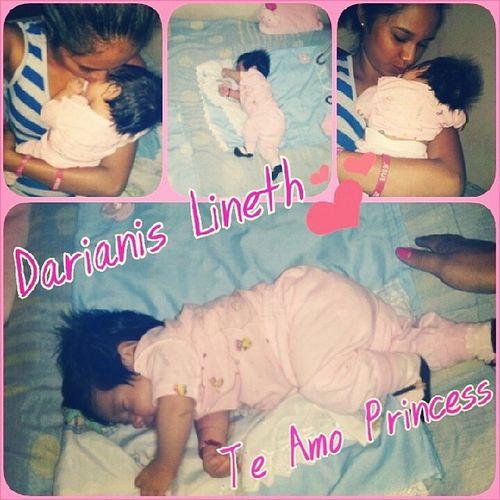 Mi PrincesaMividita MiTodito Dormilona mi CachetoncitateamoDarianis Lineth ♥