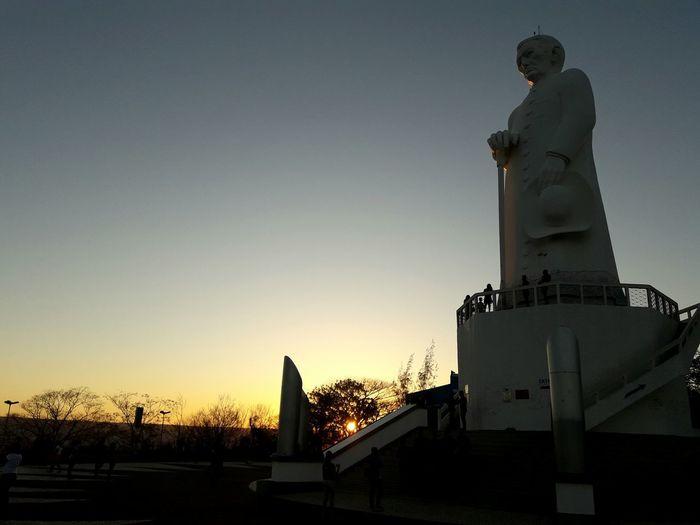 JuazeiroDoNorte PadreCícero Sunset Statue Sculpture Architecture Sky Day EyeEmNewHere