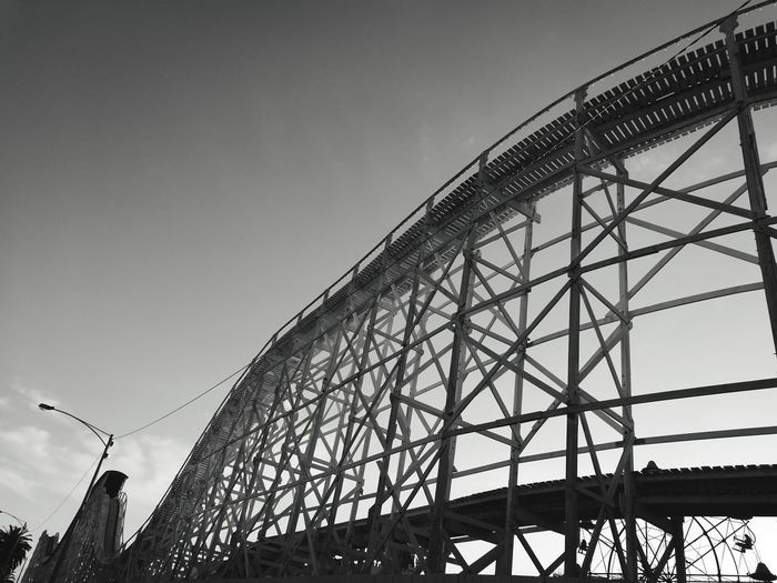 Melbourne Australia Monochrome Lunapark Carnival Rollercoaster Autumn Fun Check This Out Hanging Out Black And White Black And White Photography