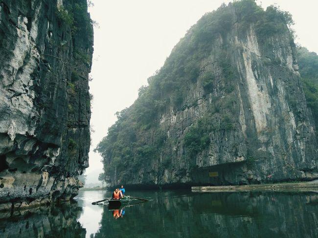 Ninh binh Tree Water Nautical Vessel Oar Rowing Men Lake Mountain Sailing Women