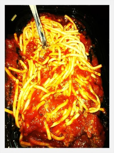 Spagettii From Little Ceasers
