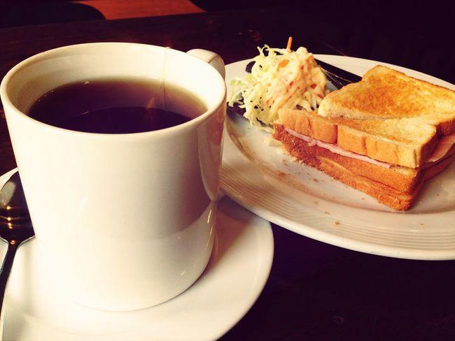 Good morning!! Breakfast Coffee Shop Earl Grey Tea Morning ??