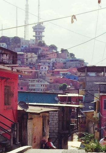 Latin America South America Ecuador♥ Guayaquil Cityscapes Favela Colored Houses Higgledy-piggledy Casas Colgantes Urbanphotography Urban Developing Country The Street Photographer - 2017 EyeEm Awards