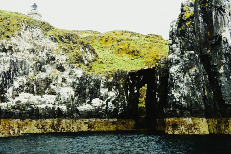 Dramatic Lighthouse Cliffsandsea Boat Ride Contrast Colors Colour Contrast Bwgreen Hardwork as boat rocking... Architecture Dangerous