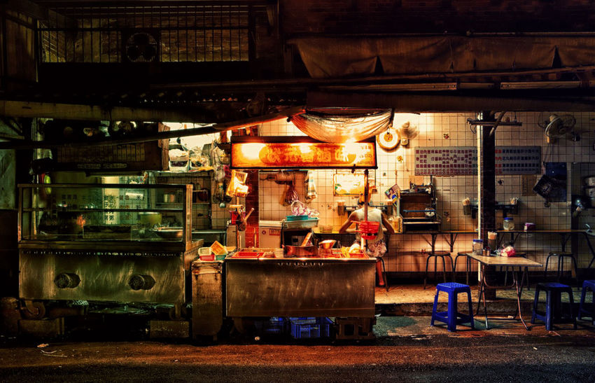 Alone Asian Culture Food Night Streetfood Streetphotography Taipei Taiwan
