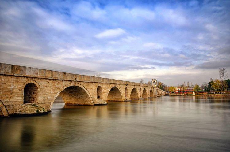 Edirne Meriç Bridge Kocasinan Mimarsinan Ottoman