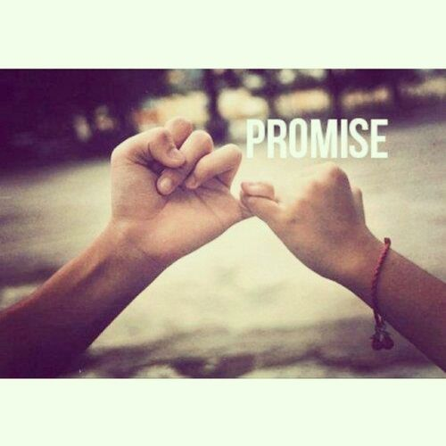 ¿me lo prometes?