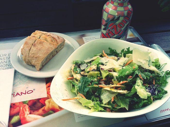 Eating Salad Pasta On A Health Kick
