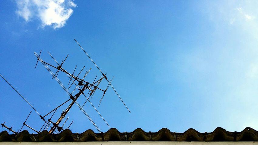 Blue sky. Taking Photos Bangkok Thailand. Sunny Day Sky Fun The _ Mazzalong